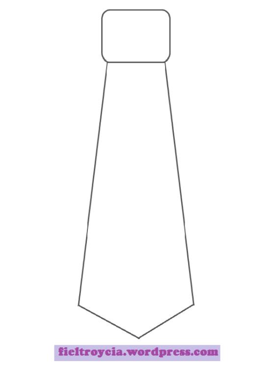 Plantilla Corbata